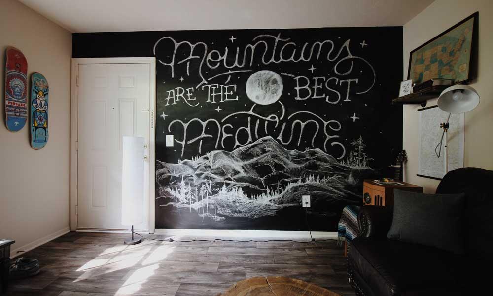 Ideas para utilizar pintura de pizarra en tus muebles