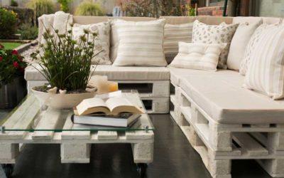 ¿Cómo hacer muebles con palets?