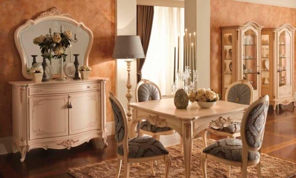¿Cómo son los muebles de estilo isabelino?