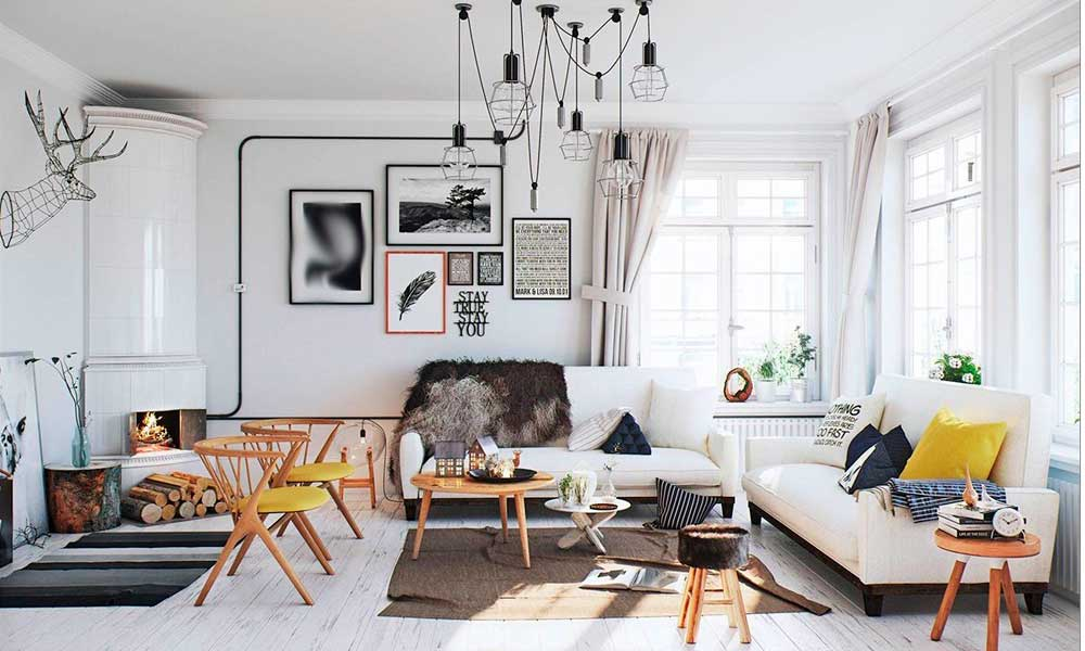 ¿Qué muebles encajan en la decoración escandinava?