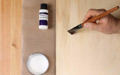 Técnica de sublimación en madera