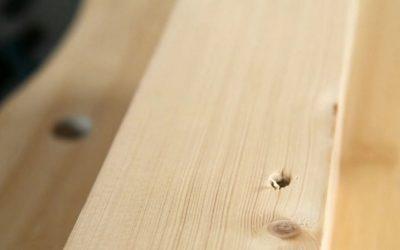 ¿Cómo se aplica la masilla para madera?