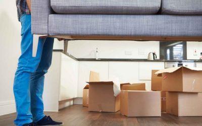 Proteger los muebles en mudanza