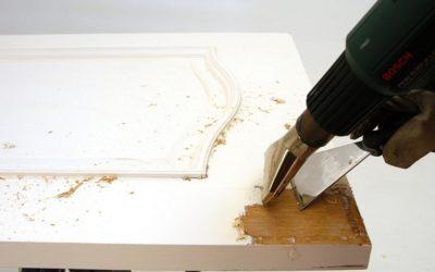Herramientas para decapar madera