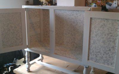 Papel para tapizar muebles