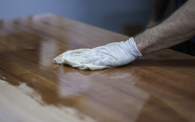 Técnicas pulido madera a mano