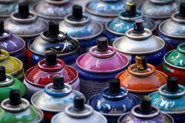 Pintura en spray
