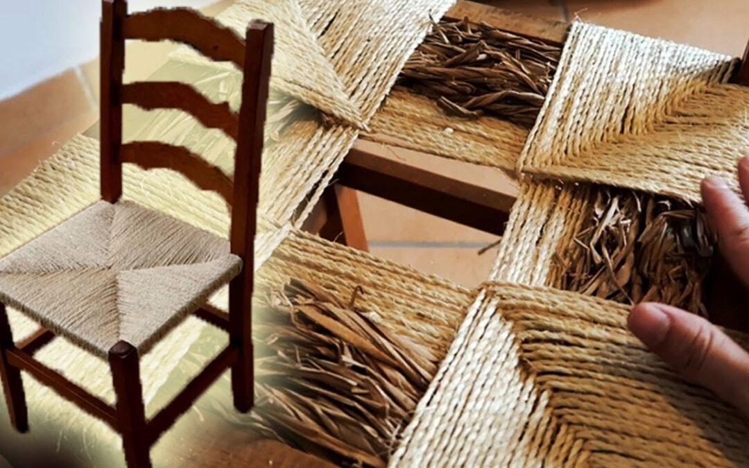 Restaurar sillas de anea