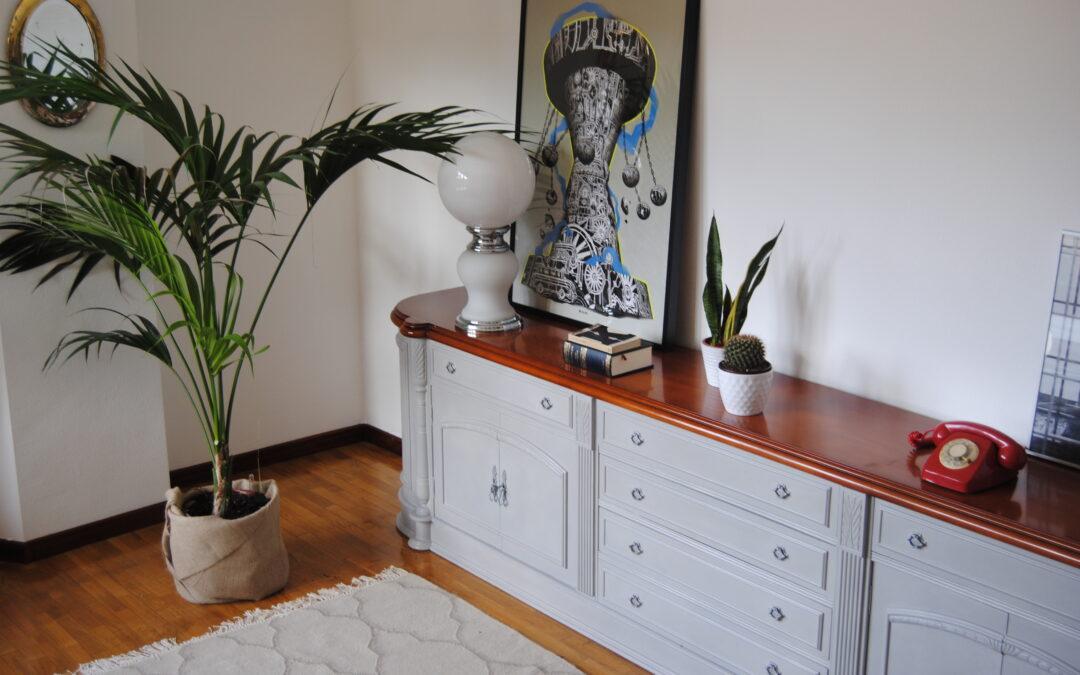 Transformar y modernizar mueble de salón antiguo